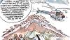 Der Schlammvulkan Lapindo in Sidoardjo