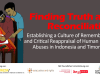 Finding Truth and Reconciliation