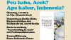 (Deutsch) Peu haba Aceh? Apa kabar, Indonesia?