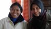 Khairani Arifin und Erni Putri von RPuK (Relawan Perempuan untuk Kemanusiaan – Freiwillige Frauen für humanitäre Aktion)
