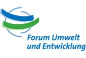 Forum Umwelt und Entwicklung-logo