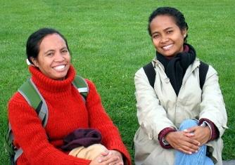 Frauenaktivistinnen Osttimor