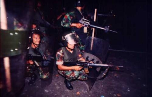 Semanggi I, 13. November 1998: Scharfschützen