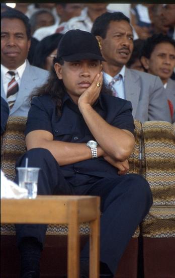Militia Leader Eurico Guterres 1999