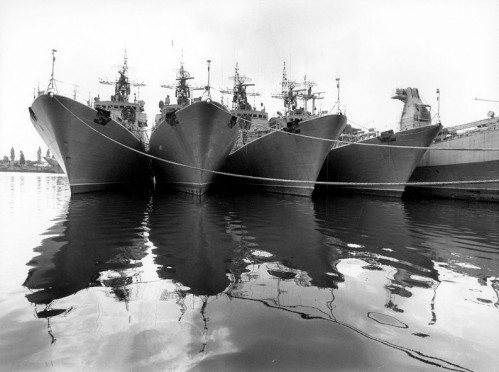 von Deutschland geliefert, von Deutschland nachgerüstet: NVA Schiffe