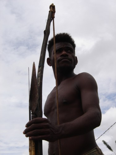 Papua warrior