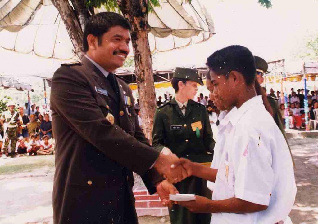 Timbul Silaen, Ex-Polizeichef von Osttimor