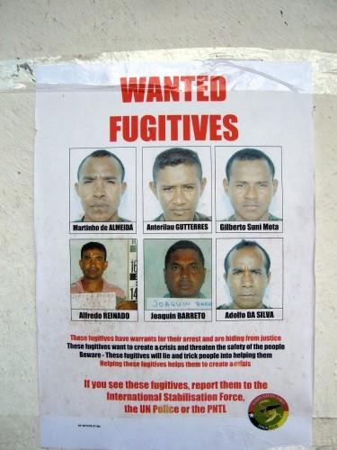 Wanted FugitivesPhoto:Jörg Meier