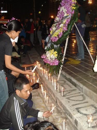 Kerzen für Maftuh Fauzi
